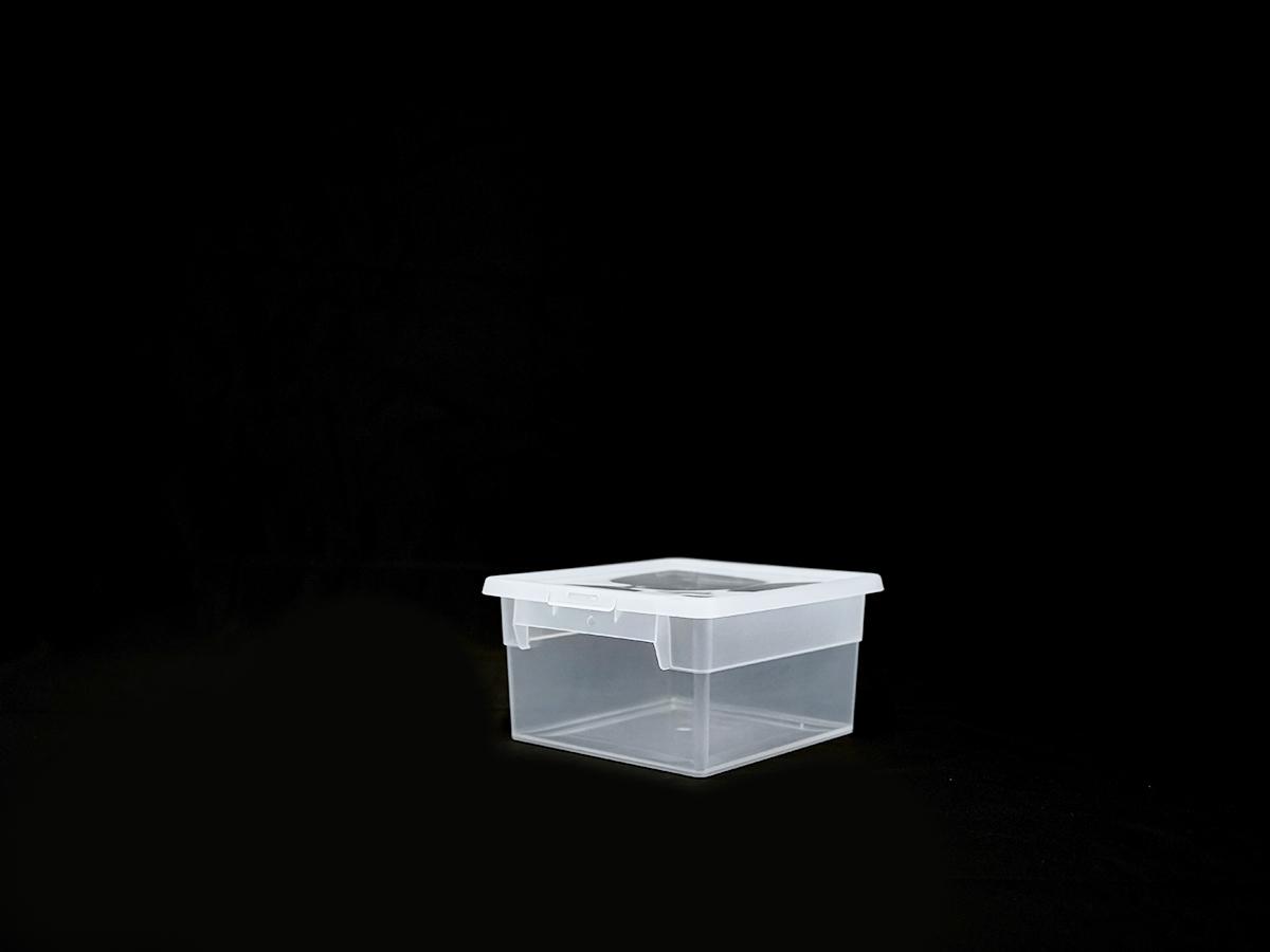 Прозрачный пластиковый контейнер S2, 2,5 л