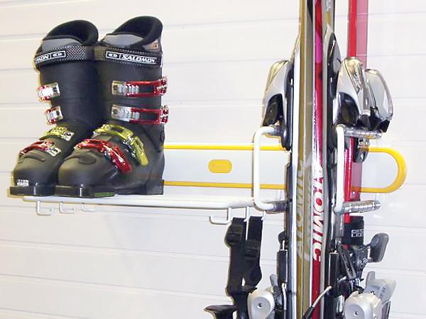 Кронштейн для лыж жёлтый