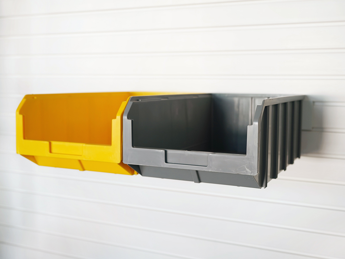 Лоток большой глубокий желтый