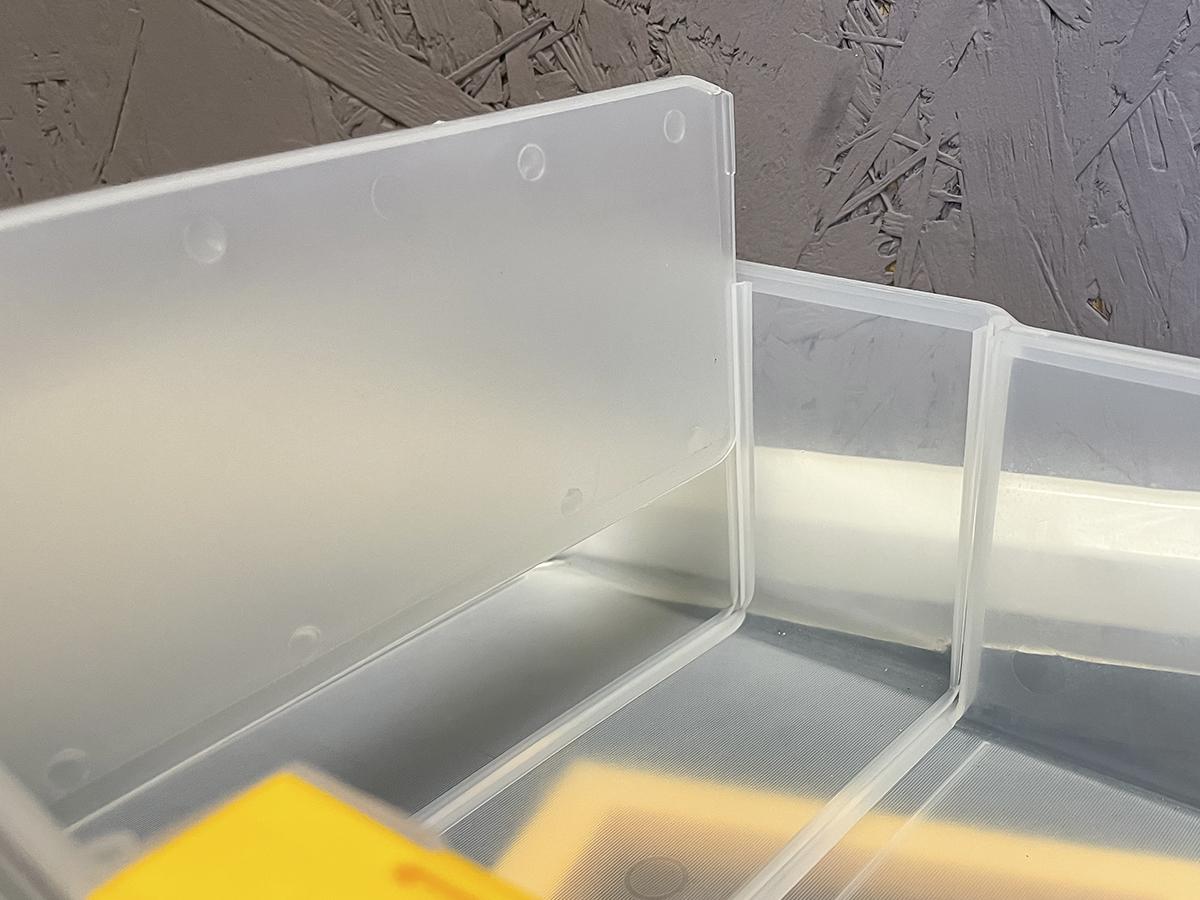 Органайзер малый с 3 ящиками