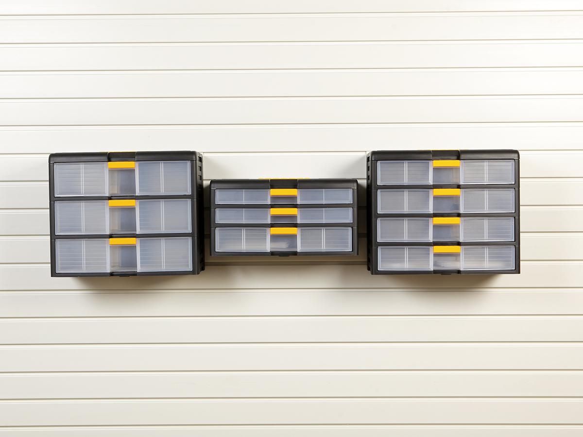 Органайзер с 3 ящиками