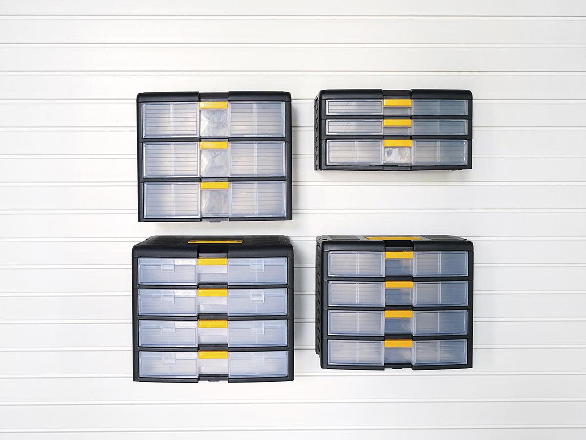 Органайзер глубокий с 4 ящиками