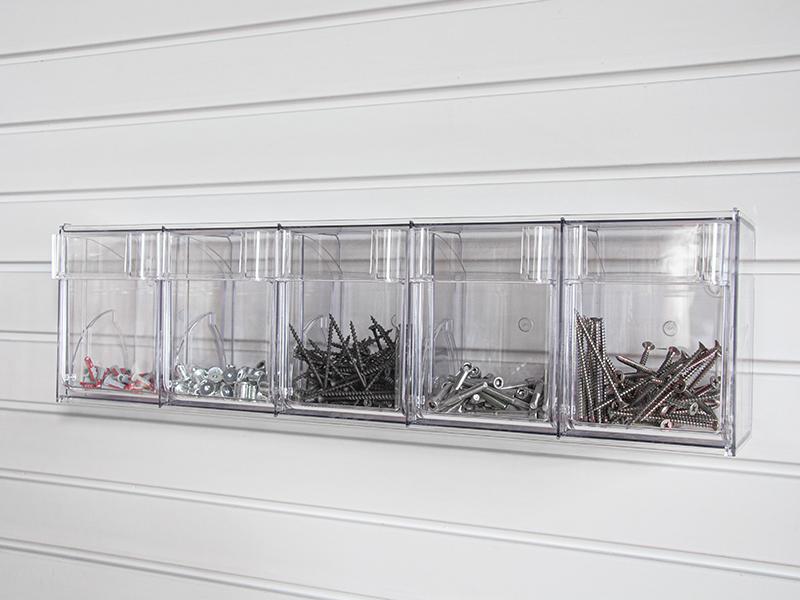 Кассетница прозрачная, 5 отделений