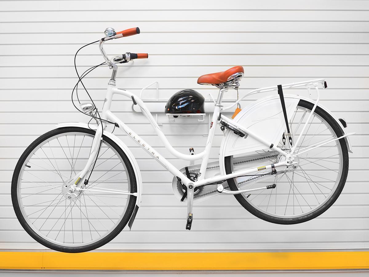 Подвес для велосипеда горизонтальный серый