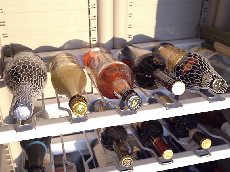 Полка для винных бутылок