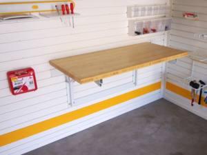 Откидной стол для гаража купить куплю гараж в москве в перово