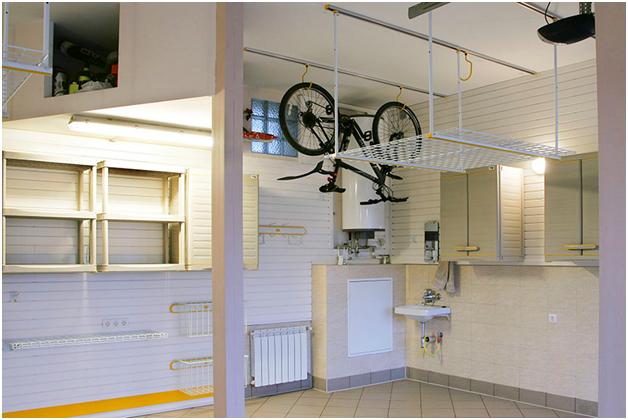 Система хранения в виде подвесных полок от ГаражТек