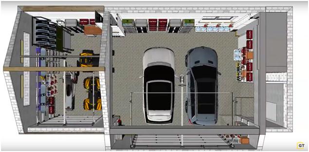 Готовый дизайн-проект гаража от ГаражТек