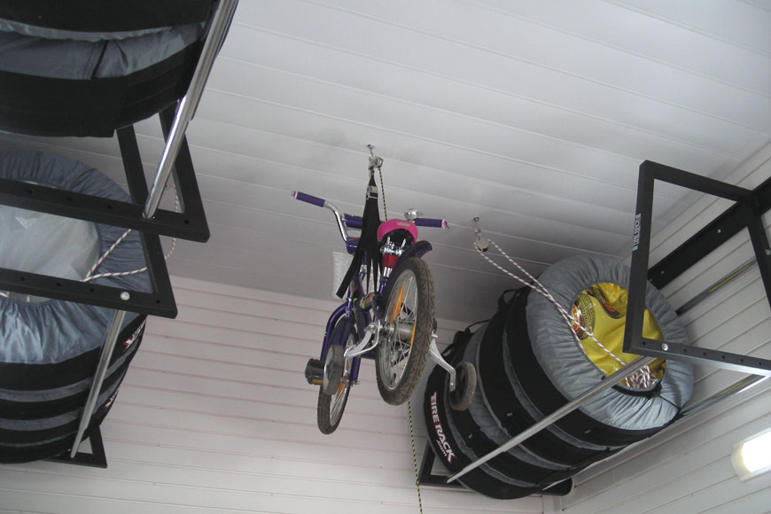Хранение колес с дисками