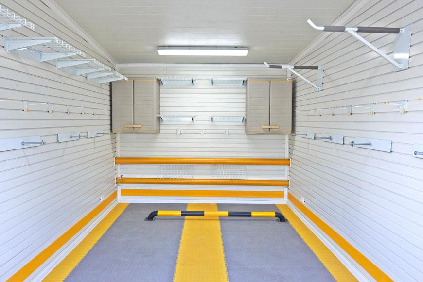 Отделка гаража внутри, фото 2
