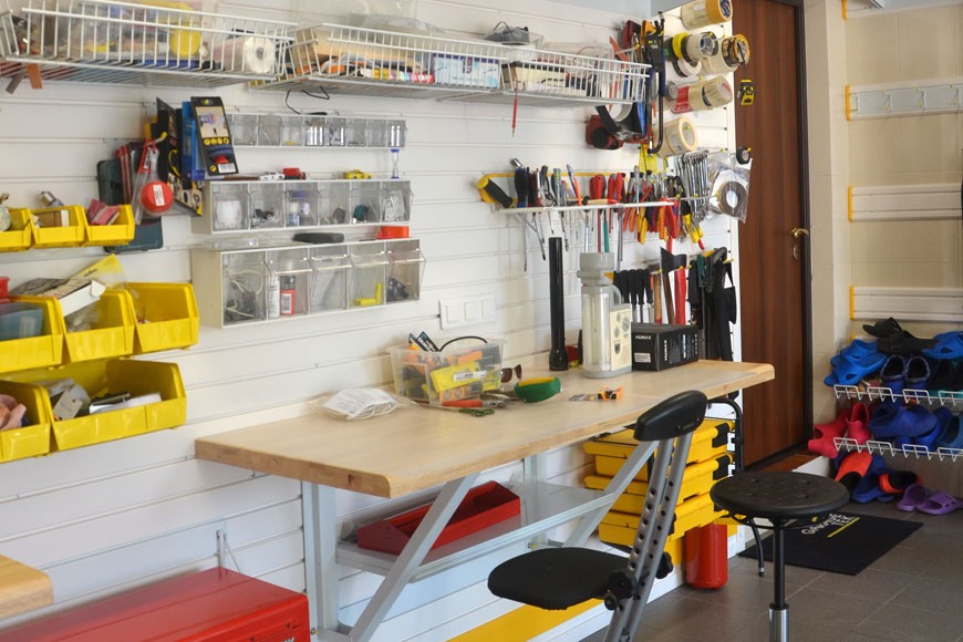 Столярная мастерская своими руками из гаража 53