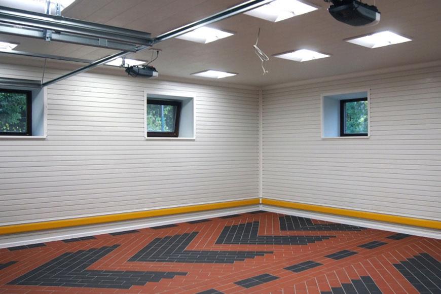 Отделка гаража внутри, фото 1