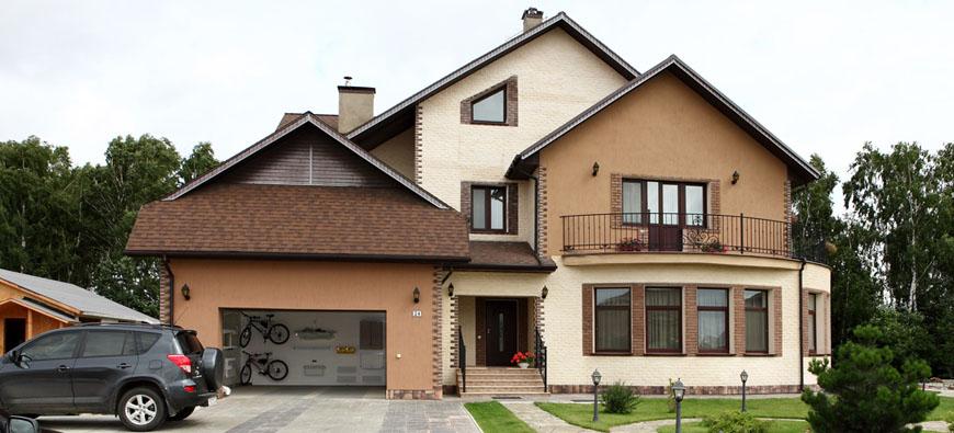 Примеры и варианты отделки гаража при доме