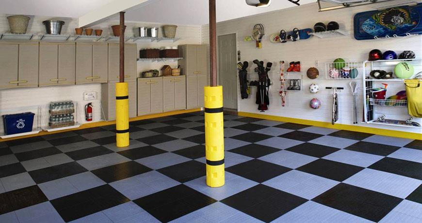 Команда GarageTek превратила гараж в чистое, аккуратное и безопасное пространство