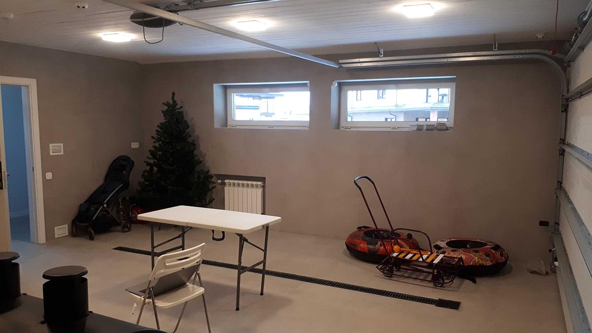До обустройства – Хранение на TekTrak для гаража 40 кв. м в КП Новорижский