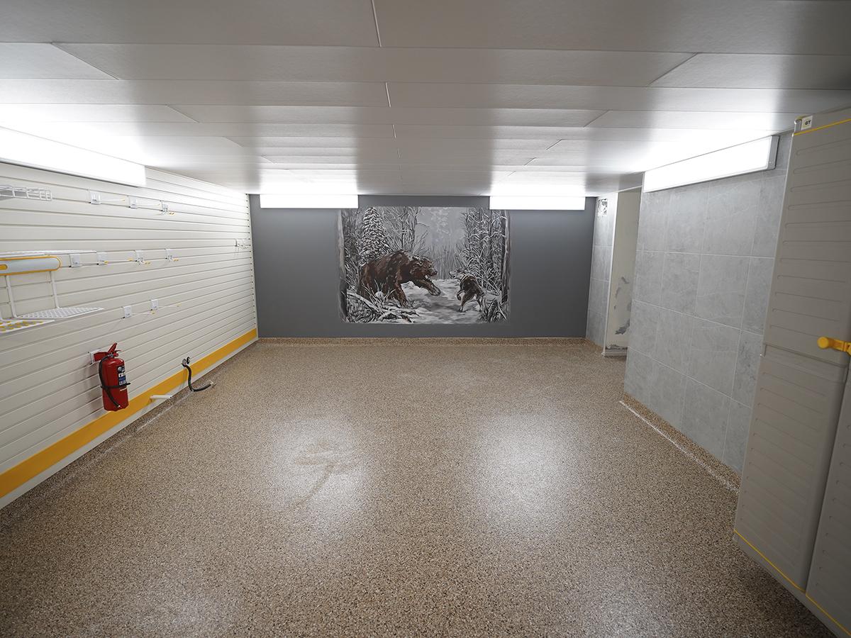 После обустройства – Подвал, в котором можно жить: обустройство от пола до потолка