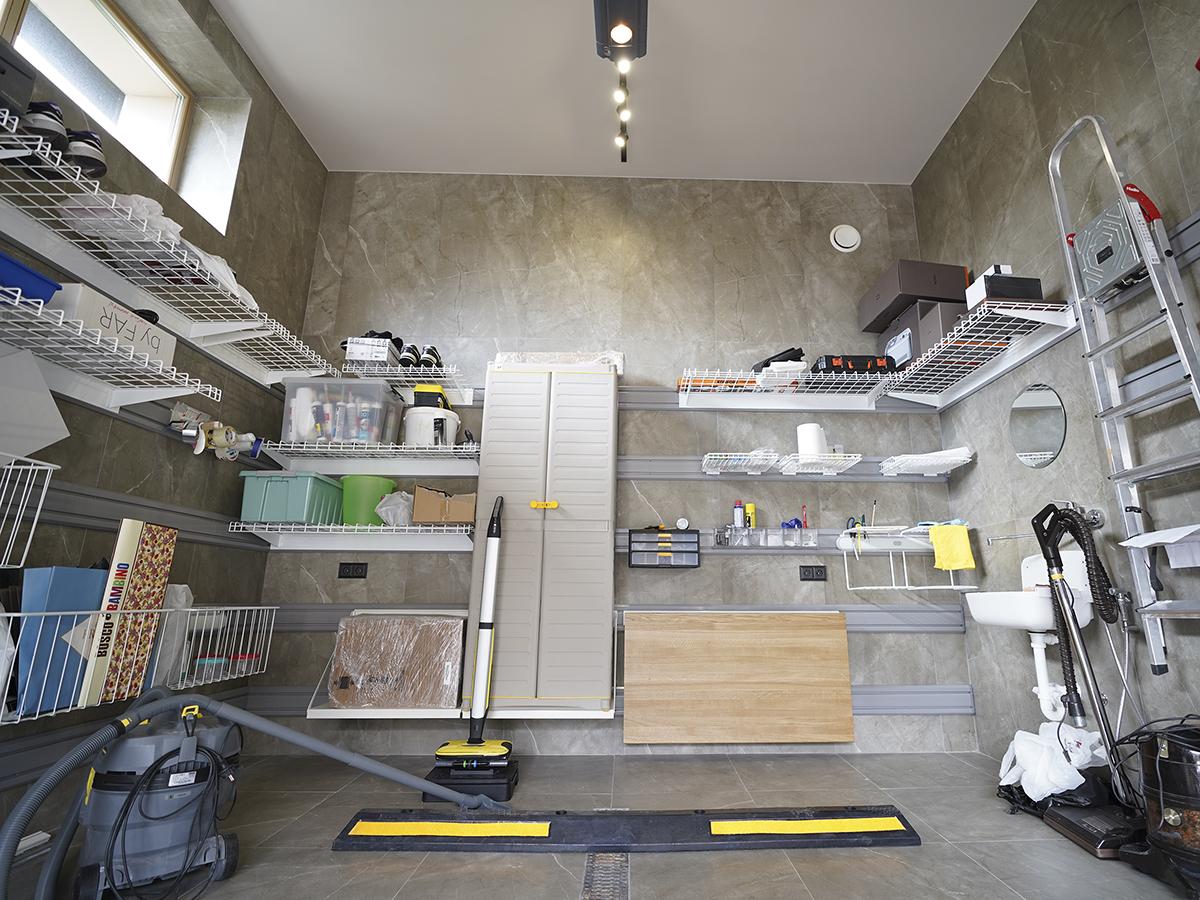 После обустройства – Полный порядок в гараже 24 кв. м делового человека