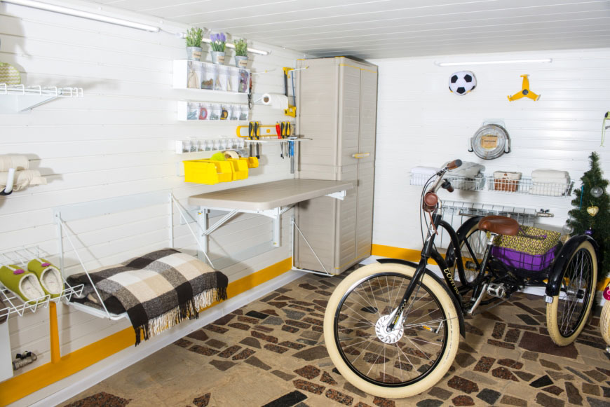 Идеальный ремонт гаража для семьи Владимира Этуша на Первом канале