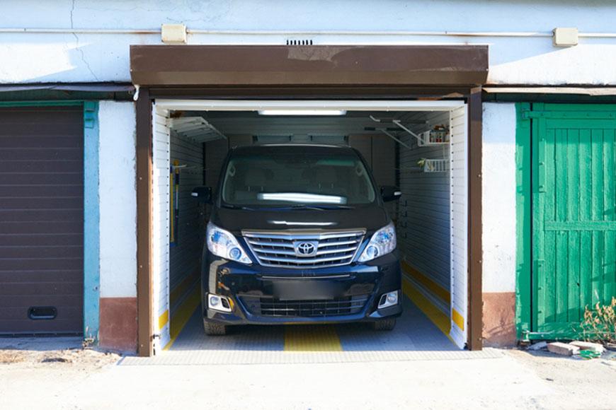 Комплексное обустройство гаража на 1 автомобиль в гаражном кооперативе
