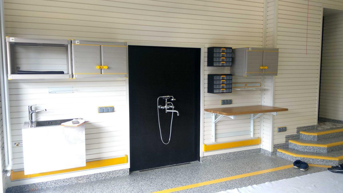 Комплексное обустройство гаража: при сдаче проекта и спустя 2 года