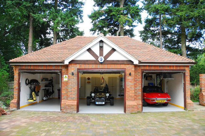 Обустройство гаража для олдтаймеров | GarageTek Великобритания