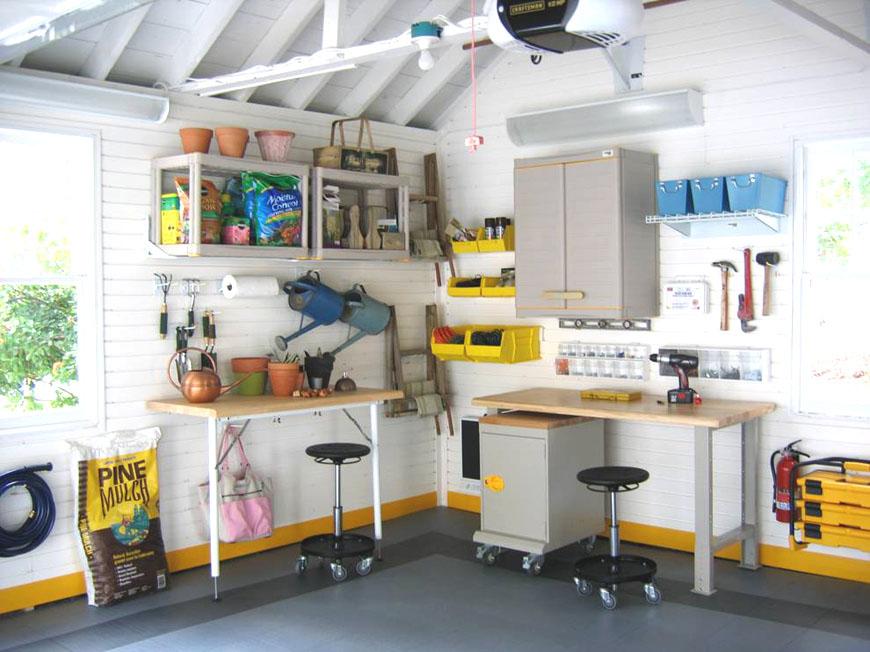 Обустройство гаража при доме   GarageTek США
