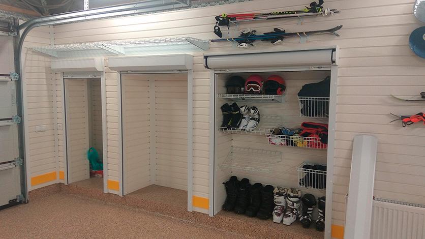 Обустройство ниш для хранения в гараже