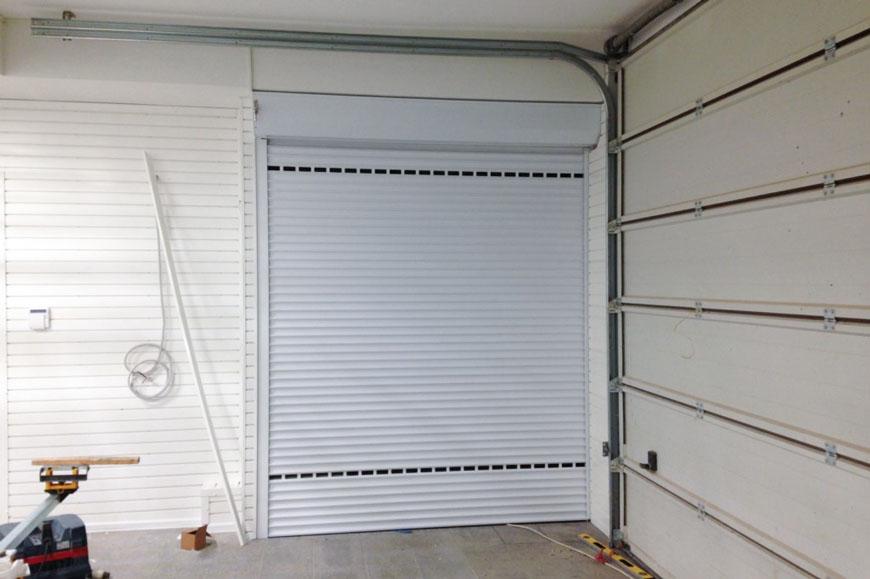 Обустройство ниши под коммуникации в гараже