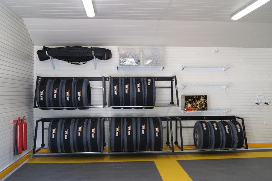 Проект обустройства большого гаража на 3 машины