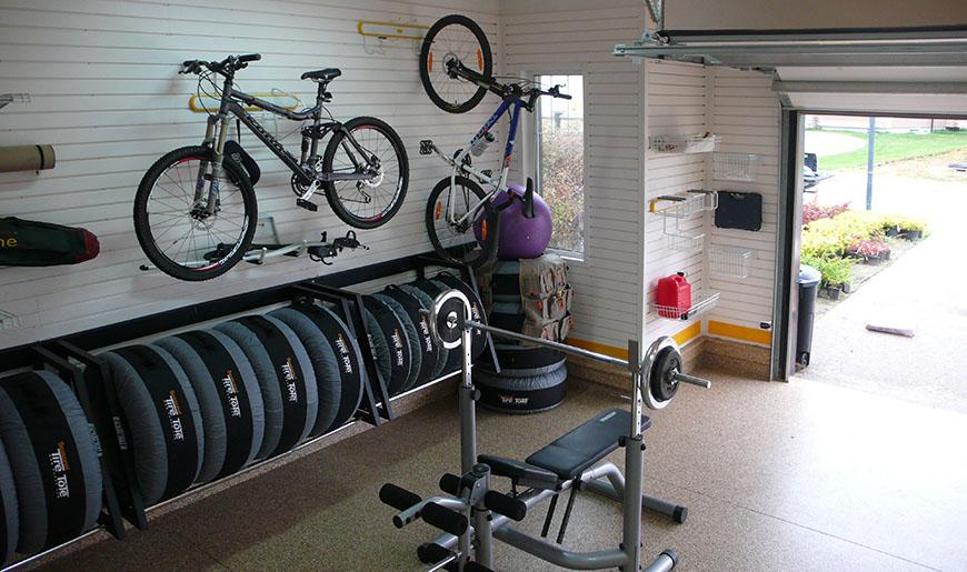 Устройство пола в гараже