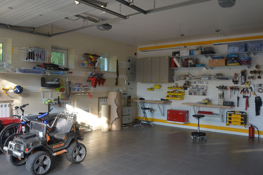 Зонирование гаражного пространства: многофункциональный гараж